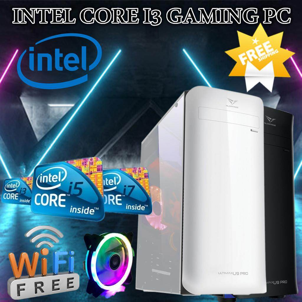 INTEL CORE I3/I5/I7 UPTO 3 40GHZ GTX950/RX460/RX480 8GB DDR3 500GB-1TBGB  HDD GAMING PC DESKTOP SUPPORTED PUBG FORTNITE APEX LEGENDS