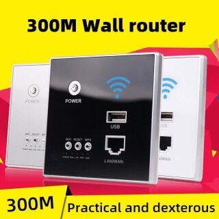 Bộ Định Tuyến Tường 300Mbps Rơle Ap Nguồn 110V 250V Bộ Mở Rộng Bộ Lặp Wifi Không Dây Thông Minh Bảng Định Tuyến Gắn Tường Ổ Cắm Usb thumbnail