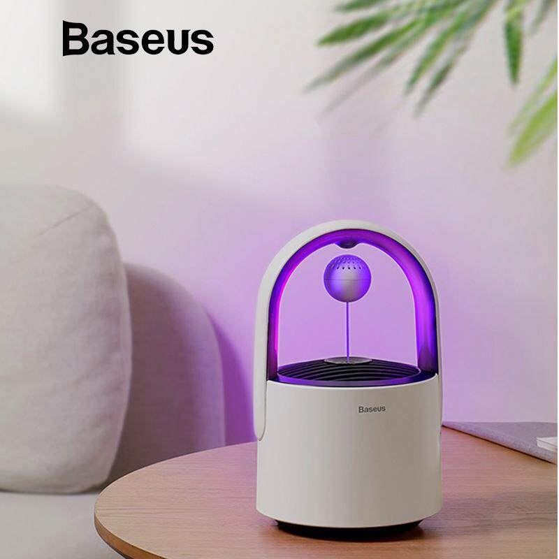 Baseus Physical Electric Mosquito Killer Trap Lamp USB Light Mute LED Anti Fly Bug Zapper Mosquitoes Killing Insect Home Pest Control