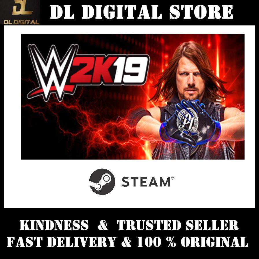WWE 2K20 Digital Deluxe Edition PC Steam Original Game CDK with eBook Guide