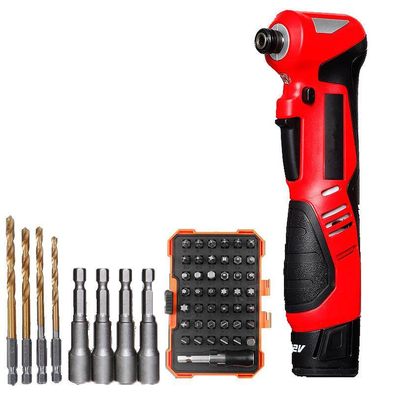 Devon 90 Degree Angle To The Electric Wrench 12V Rechargeable Impact Screwdriver