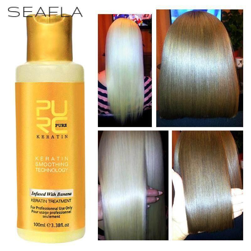 SEAFLAKER 100ml 12% hương Chuối Keratin điều trị tóc Thẳng Sửa Chữa hư hại tóc Brasil tốt nhất