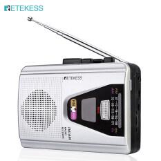 Đài FM/AM Retekess TR620, Máy Ghi Âm Cầm Tay, Phát Lại Băng Cassette, Chế Độ Vòng Lặp