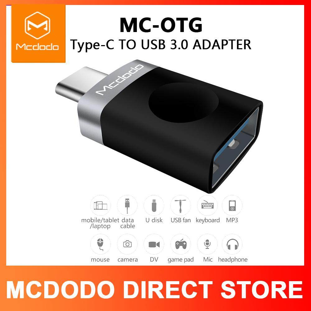 MCDODO Type C Adapter Type-C to USB 3 0 OTG Cable Adapter USB C Converter  for Samsung Galaxy S8 S9 Huawei P9 USB C OTG Adapter