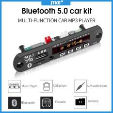 JTKE Bo Mạch Giải Mã MP3 WMA Không Dây Bluetooth 5.0 Mô-đun Radio USB TF FM Âm Thanh Xe Hơi 5V 12V Máy Nghe Nhạc MP3 Màn Hình Màu, Với Điều Khiển Từ Xa