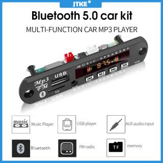 JTKE Bo Mạch Giải Mã MP3 WMA Không Dây Bluetooth 5.0 Mô-đun Radio USB TF FM Âm Thanh Xe Hơi 5V 12V Máy Nghe Nhạc MP3 Màn Hình Màu, Với Điều Khiển Từ Xa thumbnail