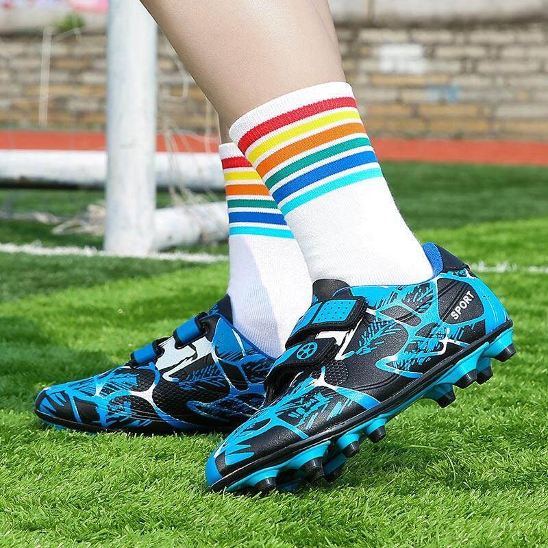 YEALON Giày Đá Bóng Trẻ Đá Bóng Sepatu Futsal Giày Thể Thao Trẻ Em Mềm Giày Futsal Sepatu BOLA Giày Đá Bóng bé trai Sepatu Futsal Thông Số Kỹ Thuật Superfly Ban Đầu Banh Sepak Futsal Trẻ Em Size28-39 - 3