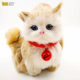 Hackey Vòng Cổ Cho Chó Thú Cưng Vòng Cổ PU Điều Chỉnh Được Có Chuông Cho Chó Mèo thumbnail
