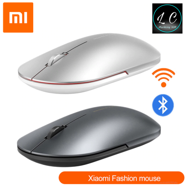 Xiaomi Original Fashion Mouse Metal Material Appearance Stylish Slim Portable 2.4G Bluetooth Dual Mode Mute Button Malaysia
