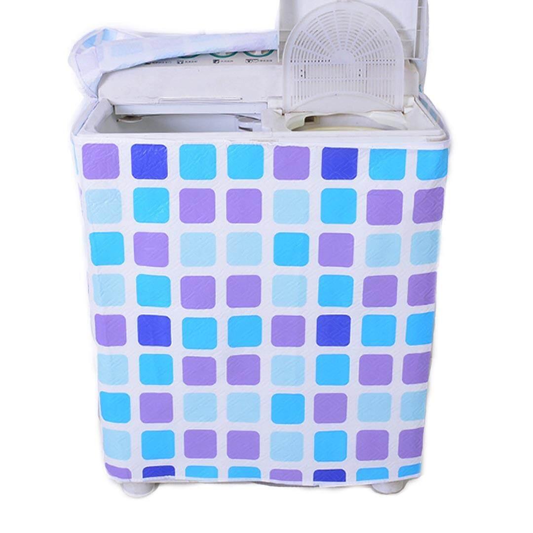 4u Indoor Twin Tub Washing Machine Cover Moistureproof Waterproof Dustproof Three Layers Eco-Friendly Washer Cover By 4u International Trading Ltd.