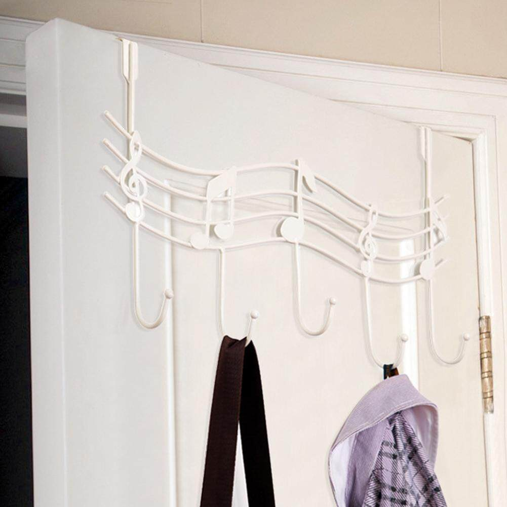 Over The Door Hanger Hook Clothes Storage Holder Multipurpose Towel Hanging Rack By Makiyo.