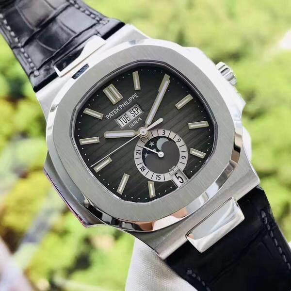 Patek `Philippe `Sports Series 5726A-001 Watch (Nautilus) accompanied by inspection Movement type: mechanical movement - automatic mechanical Malaysia