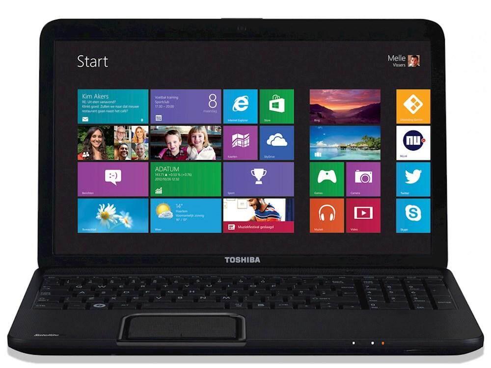 "Toshiba Satellite C850-1G2 Laptop 15.6"" Celeron Dual Core 2GB 320GB Windows 10 Malaysia"