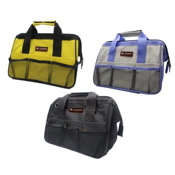 1Pcs Tool Bag Portable Nylon Canvas Storage Bag Close Top Wide Mouth 310*180*220Mm
