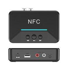 Bộ Thu Âm Thanh BT200 NFC Bluetooth 5.0, Bộ Chuyển Đổi Âm Thanh Bluetooth Không Dây Âm Thanh Nổi, Loa Xe Hơi Âm Thanh AUX 3.5Mm Mới Nhất