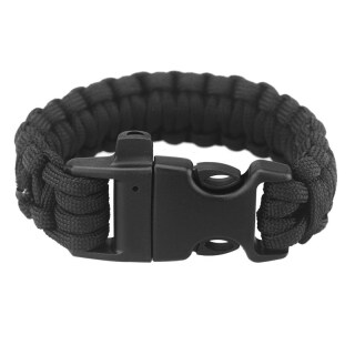 Paracord Parachute Cord Emergency Survival Bracelet Rope with Whistle Buckle Outdoor Camping thumbnail