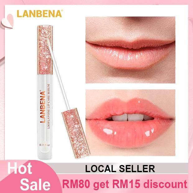 Lanbena Lip Balm Lip Serum Plump Lip Mask Increase Elasticity Reduce Fine Lines Repairing Moisturizing Lip Care Serum By Beauty Lodge.
