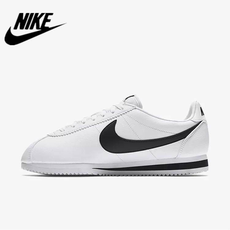 hot sale online ce270 925ee Nike Classic Cortez 749571-100 White Black Shoes Running Shoes Sport Shoes  Sneakers for