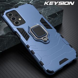 Ốp Chống Sốc KEYSION Ốp Chống Sốc Dạng Nhẫn Cho Samsung A32 A52 A72 5G Ốp Lưng Điện Thoại Silicon Cho Galaxy A52 5G A32 A72 thumbnail