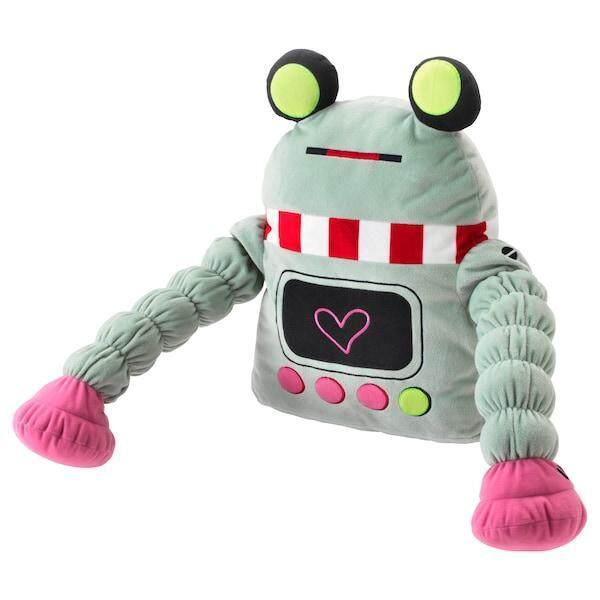 LATTJO Soft toy robot light green toys for girls