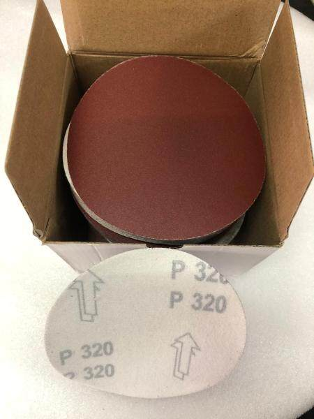 5 Inch (125mm) P100,120,150,240,320,400 Sander Disc Abrasive Red Sanding Pad