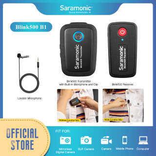 Saramonic Blink 500 Ultrapact 2.4GHz Hệ Thống Micro Không Dây Hai Kênh DSLR Máy Quay Video Không Gương Lật thumbnail