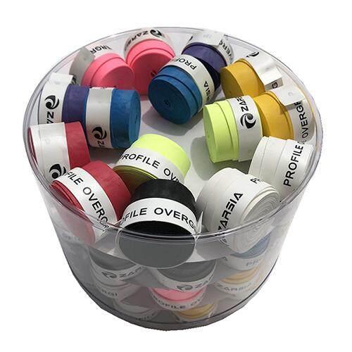 Badminton Grips b@p 60 pcs Anti-slip dry feel overgrip Racket Handle Tape Overgrip Tennis Fishing Rods Racquet Sports Squash Tape