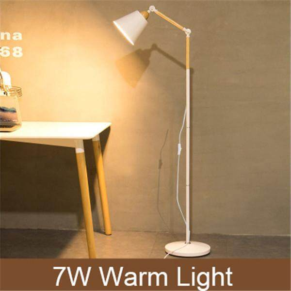 Nordic Floor Lamp Living Room Bedroom Creative American Simple Restaurant Study Office Iron Fashion Floor Lamp
