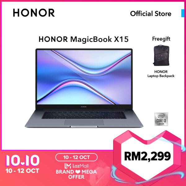 HONOR MagicBook X 15-i5/i3 ( 8GB RAM | 512GB SSD / 256GB SSD) with 2 Years Warranty Malaysia