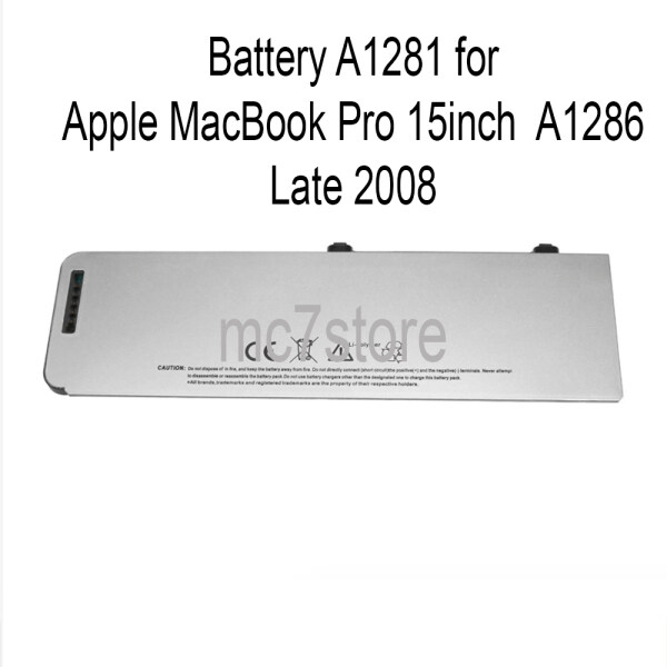 Battery A1281 for Apple MacBook Pro 15  A1286 Late 2008 Malaysia