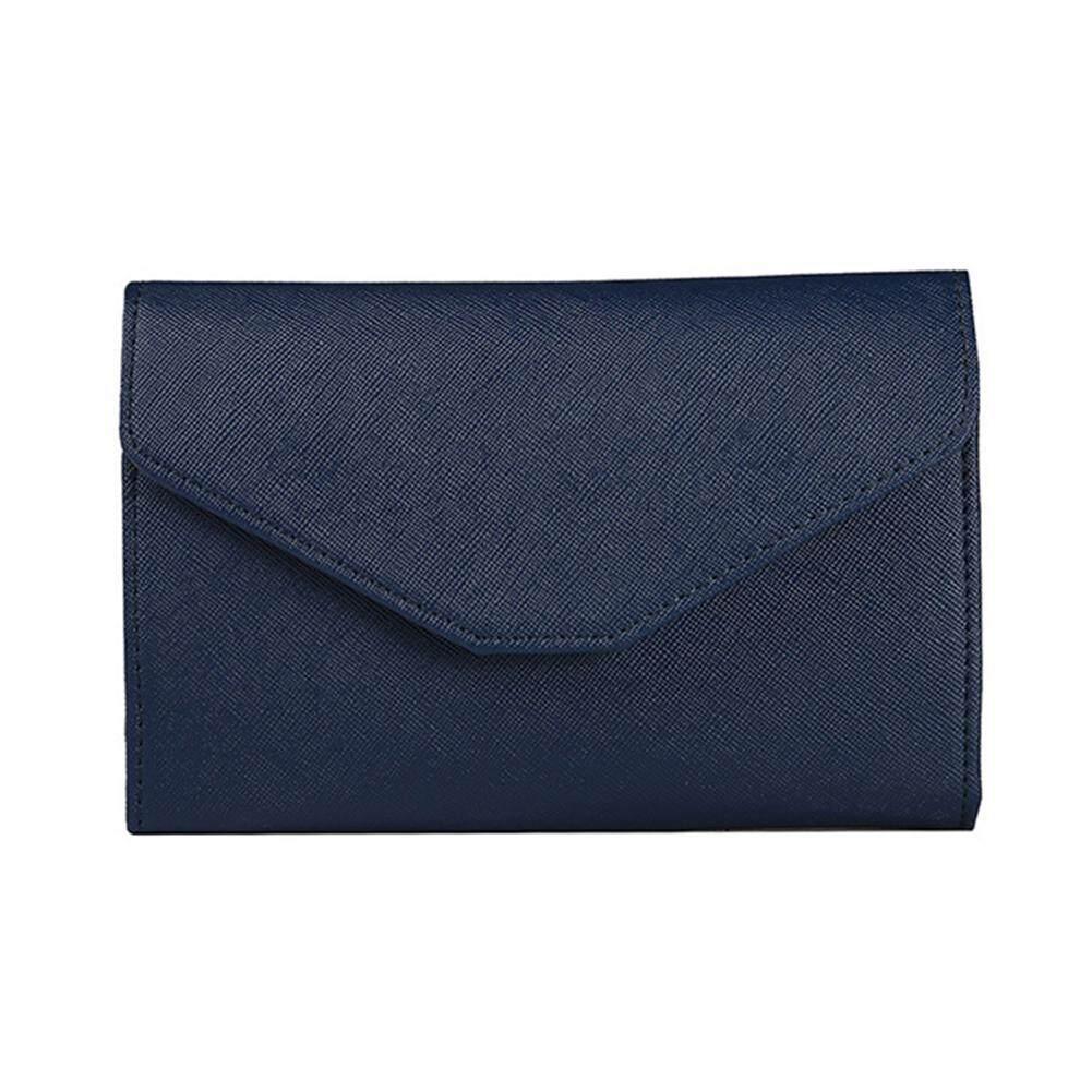 Pengwen Faux Leather Passport Holder Wallet Travel Envelope Card Holder Cash Purse Gift