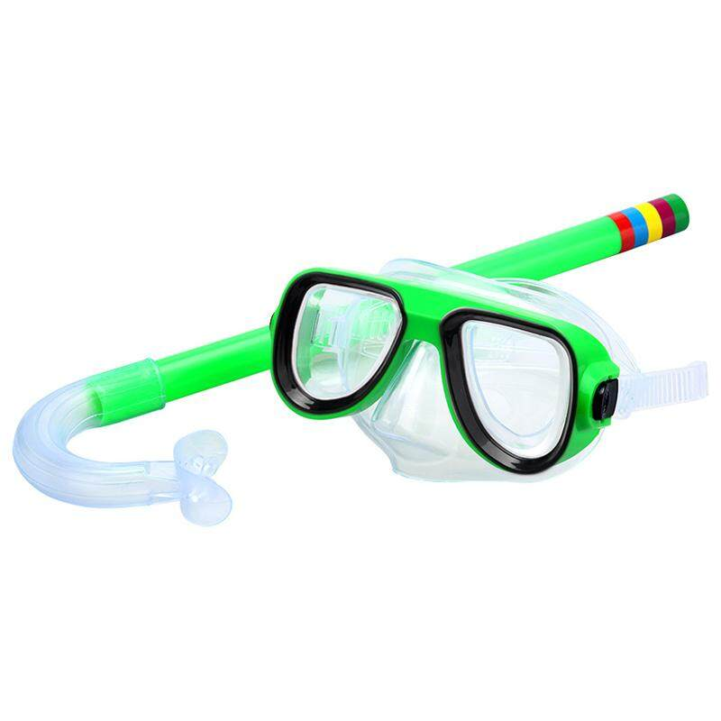 Mã Khuyến Mãi Khi Mua Trẻ Em Trẻ Em Chống Sương Mù Mắt Bơi Silicone Kính Kính Lặn Ống Thở Kính Bơi Lội Chuyên Nghiệp Kính Bơi