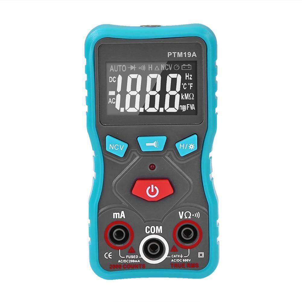 Digital True RMS Multimeter Current Meter Voltage/Resistance/NCV Tester
