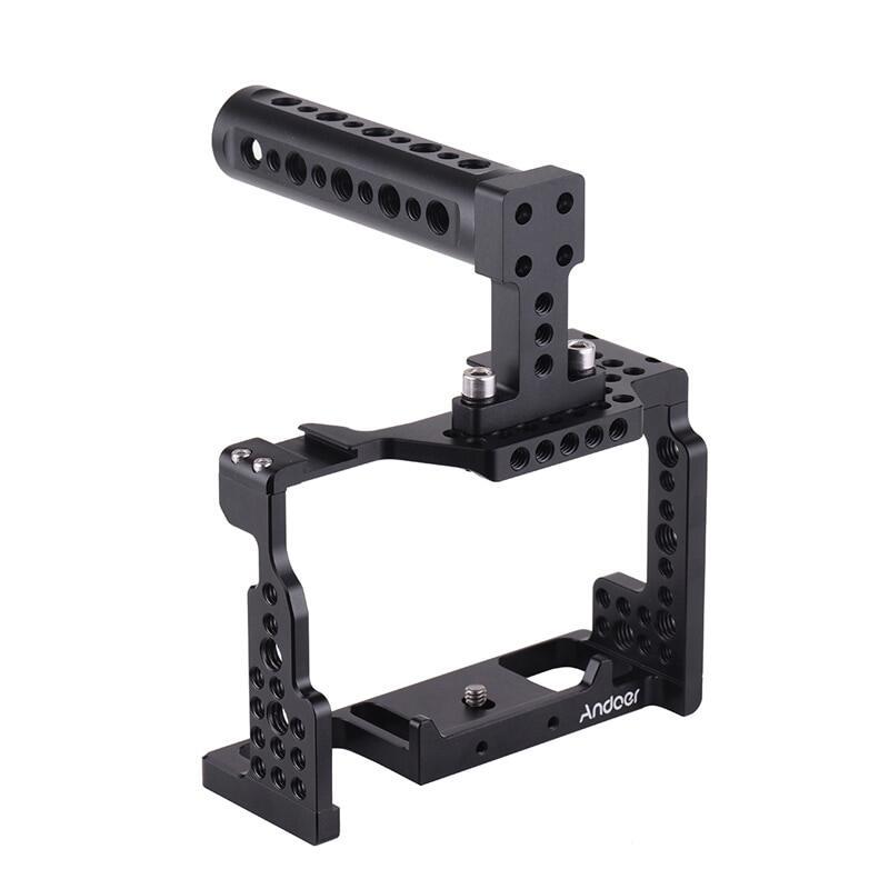 Giá Andoer Camera Dây + Tay Bộ Ổn Định Video Với Giày Lạnh Ốp Cho Sony A7III/SII/M3 /A7RII/A7RIII Camera