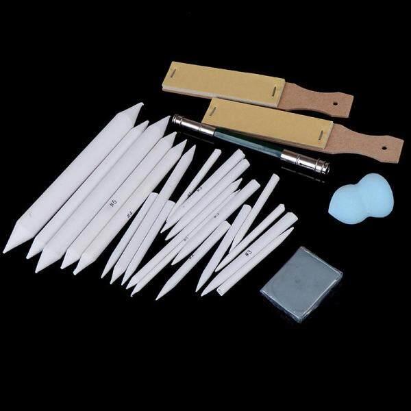 Mua [Shounazongdongyuan] Bộ 25 Cây Bút Chì Xóa Được Que Làm Nhòe Sắc Nét NGHỆ THUẬT Phác Thảo Công Cụ