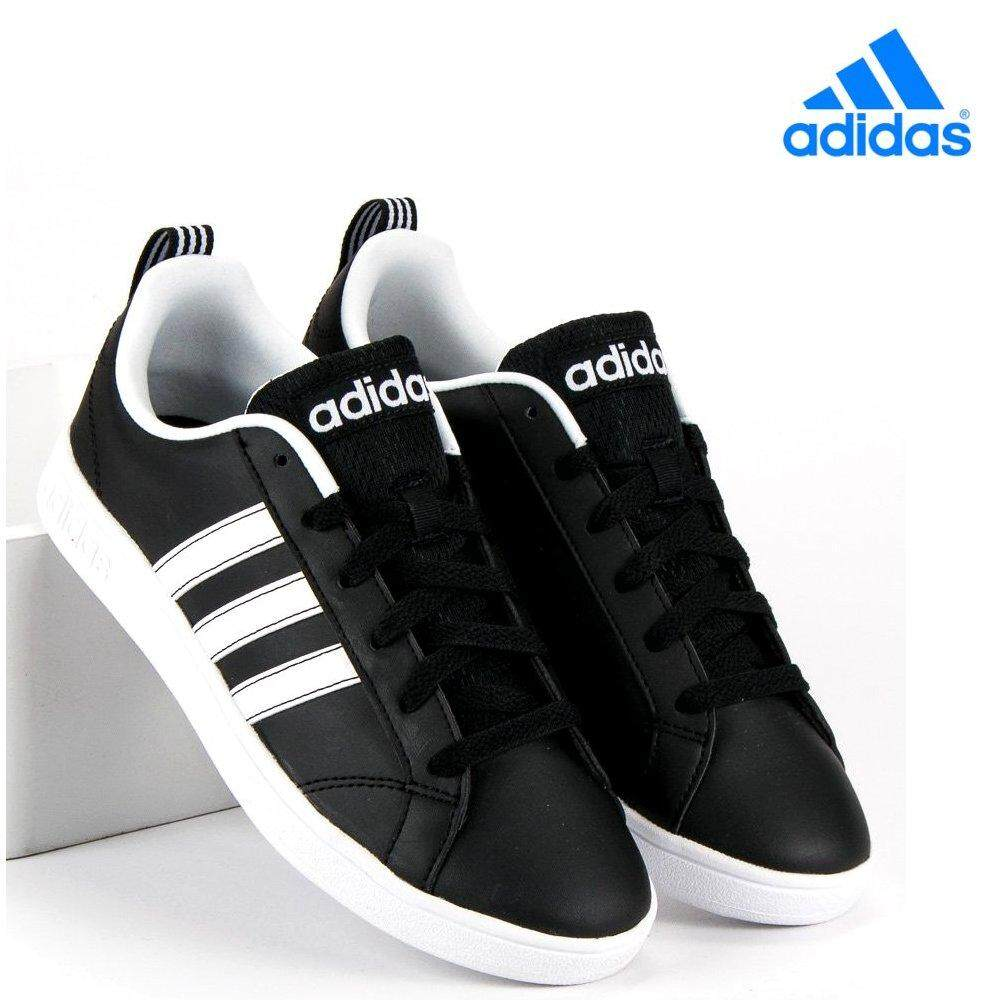 Adidas Neo Label VS Advantage Casual Trainers SNEAKERS F99254 Black White 11548ee69b