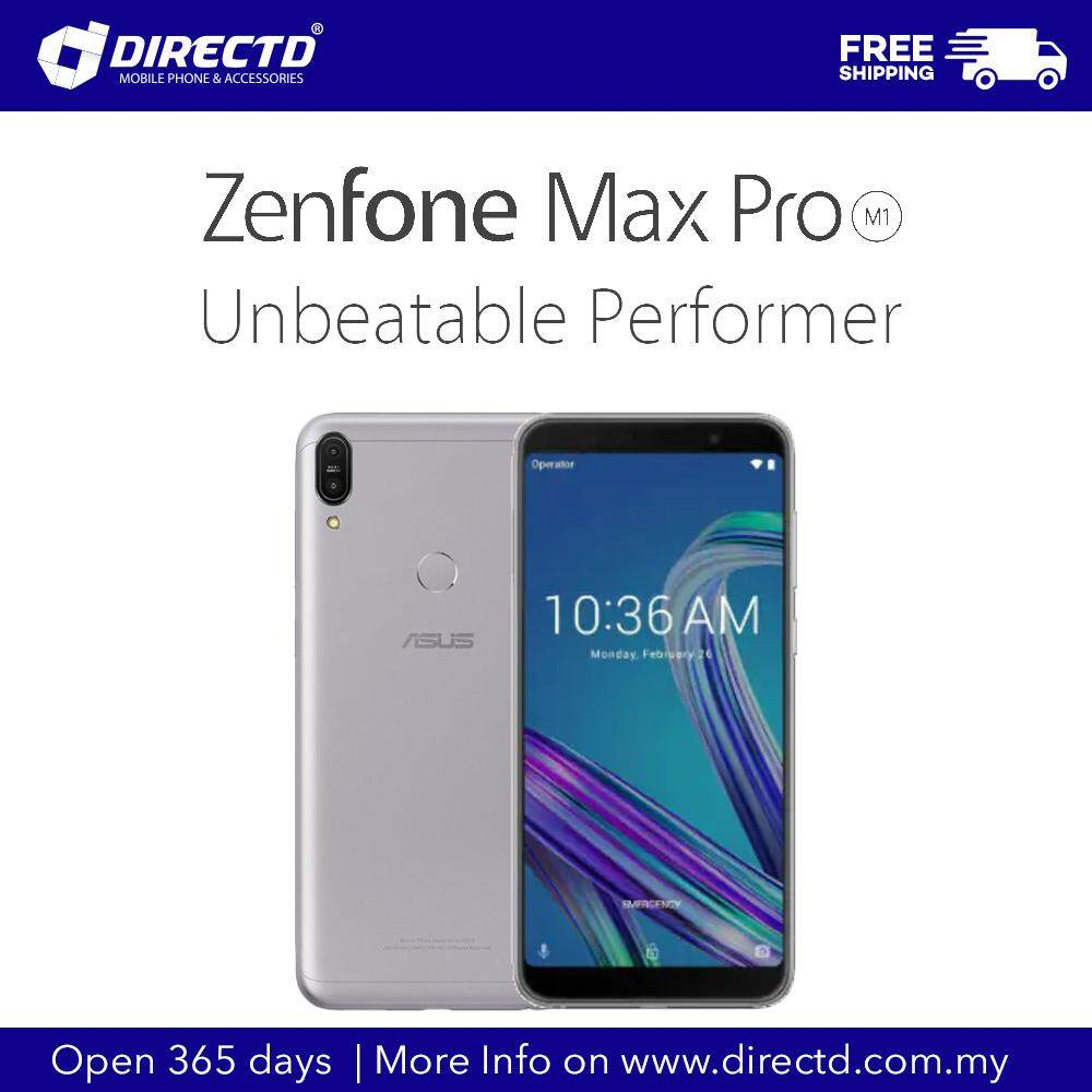 ASUS ZENFONE MAX PRO (M1) (6GB RAM + 64GB ROM) Pure Android, 5000mAh  Battery, Original 1 Year Warranty By ASUS Malaysia!!