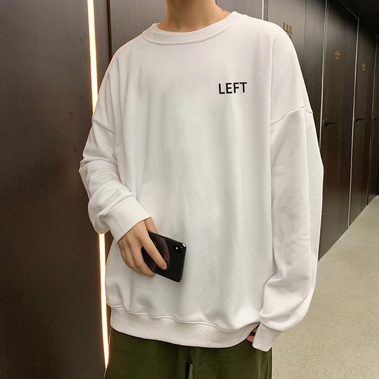 Áo thun nam tay dài cổ tròn chất liệu nỉ da cá thời trang Hàn Quốc SK form dáng rộng