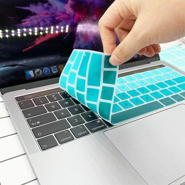 New Silicone Utra Thin Keyboard Cover US version For MacBoook Pro 13 15 With Touch Bar Anti-dust A1707 A1706 A1989 A2159 A1990