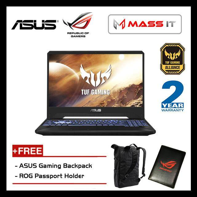 ASUS FX505D-TBQ222T TUF Gaming (Ryzen 5-3550H/GTX1650 4GD5/4GB D4 2666MHz/512GB PCIe NVMe M.2 SSD/15.6 IPS FHD/WIN10/2 Years Warranty) Malaysia