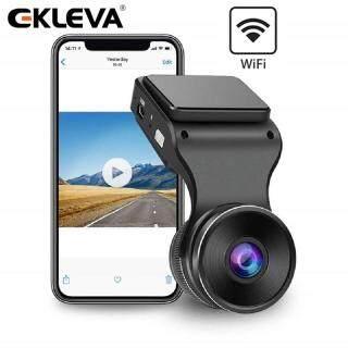 Camera Hành Trình EKLEVA Dash Cam WiFi, Camera FHD 1080P Cho Ô Tô, Máy Ghi Hình Camera Hành Trình Xe Hơi, Cảm Biến G, Góc Rộng 170, Ghi Hình Liên Tục, Theo Dõi Đỗ Xe, WDR, Tầm Nhìn Ban Đêm, Phát Hiện Chuyển Động thumbnail