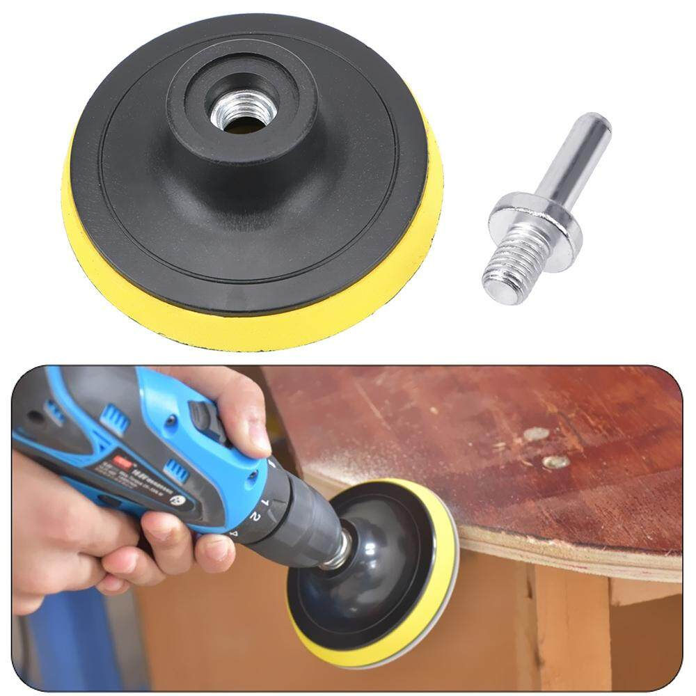 Sandpaper Disc Holder 8mm Shank for Dremel Electric Grinder Rotary Tool 3 75mm Polishing Tools Self-adhesive Sanding Disc Pad For Woodworking