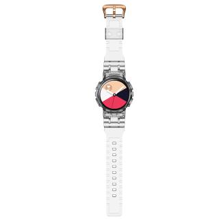 Đồng Hồ Chất Lượng Cao, Accessories TPU Watchband Dây Đeo Thể Thao Mới Nhất Dành Cho Samsung Galaxy Active 2 Dây Đeo Đồng Hồ Trong Suốt + Ốp Lưng Dây Đeo Cổ Tay Cho Galaxy Active 2 40Mm thumbnail