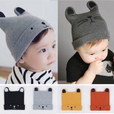 I Love Daddy&Mummy Mũ len dệt kim Bonnet dành cho bé sơ sinh 0-12 tháng tuổi đội vào mùa đông – INTL