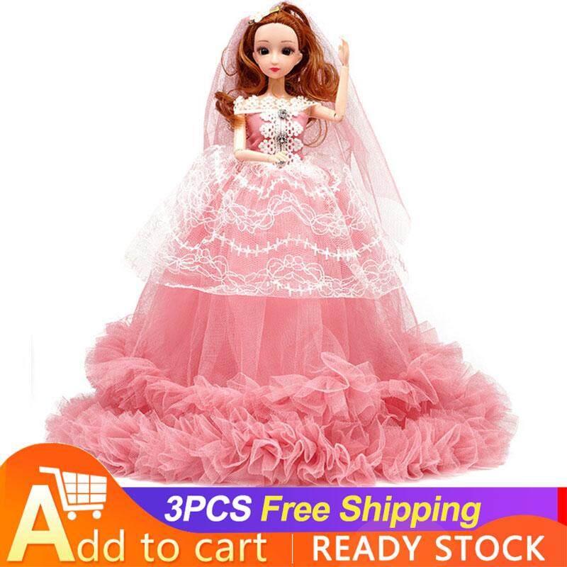 ES Búp Bê Barbie Công Chúa Mặc Váy Cưới Chất Lượng Cao Giá Hot Siêu Giảm tại Lazada
