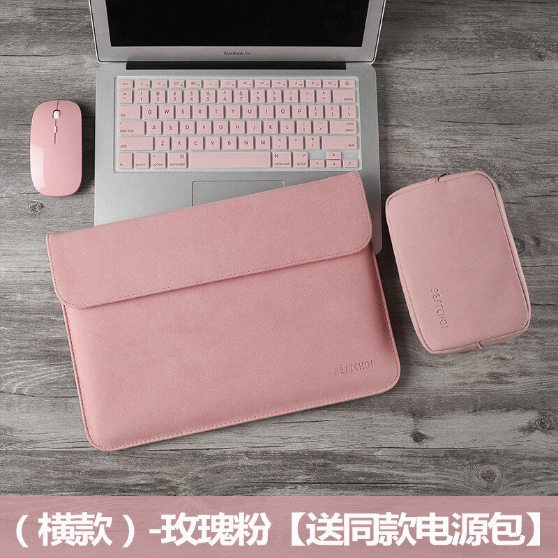 Allmax For Computer Protective Case Laptop Sleeve Case Huawei Matebook 14 13 Laptop Lenovo Lovely Air 14 Acer S2 Men 13.3 Inch For HP Star 14S Dell Pro Leather Case 15.6 Men
