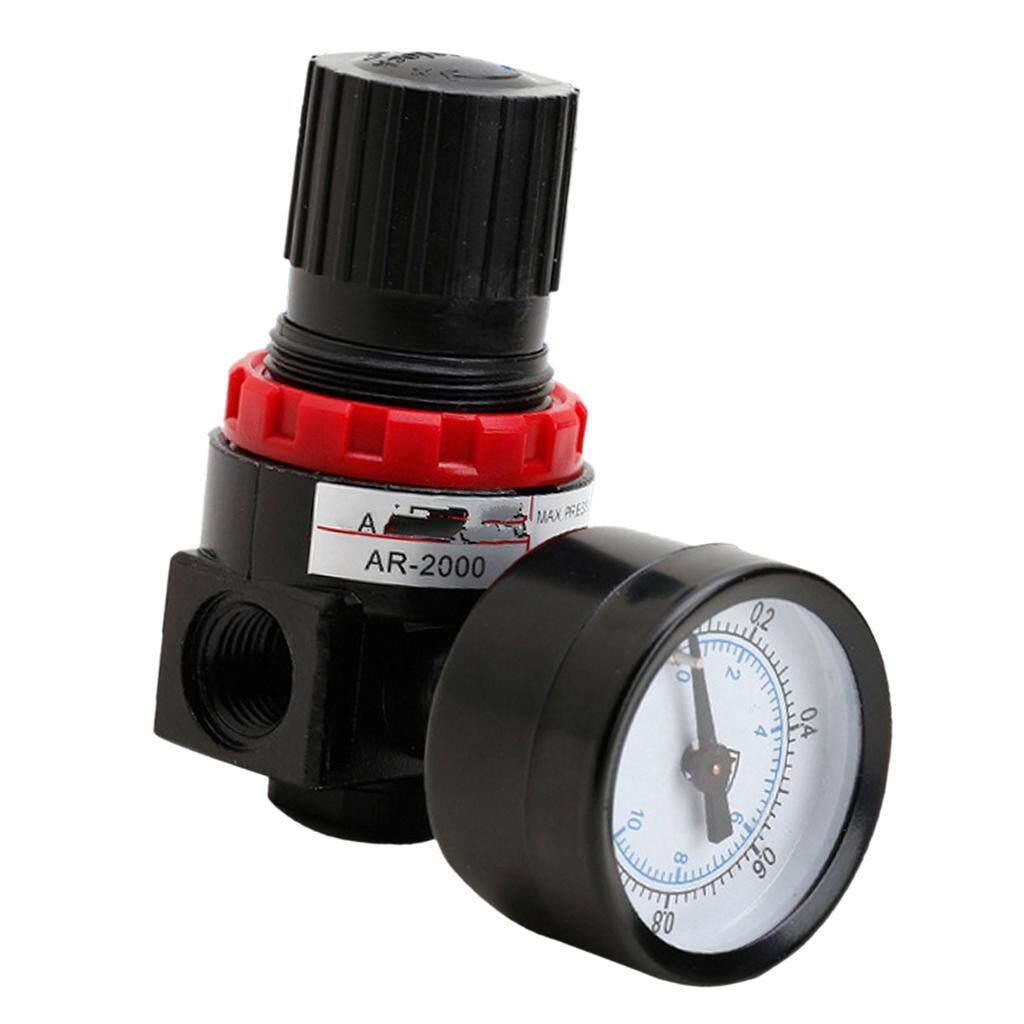 Gazechimp AR2000 Pneumatic Air Compressor Pressure Gauge Regulating Regulator Valve