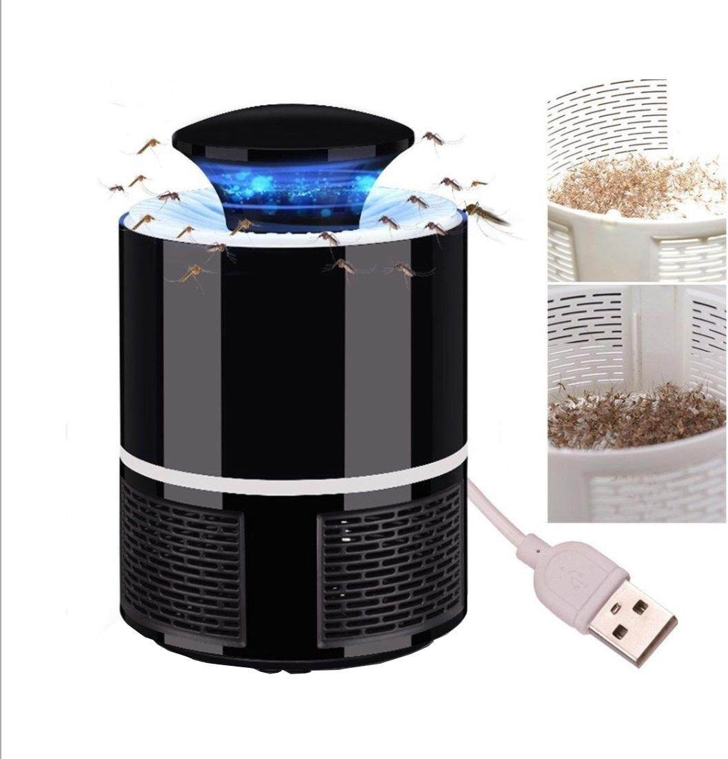 Photo Mosquito Killer Lamp Repellent Lamp with Blue Led and USB Powered