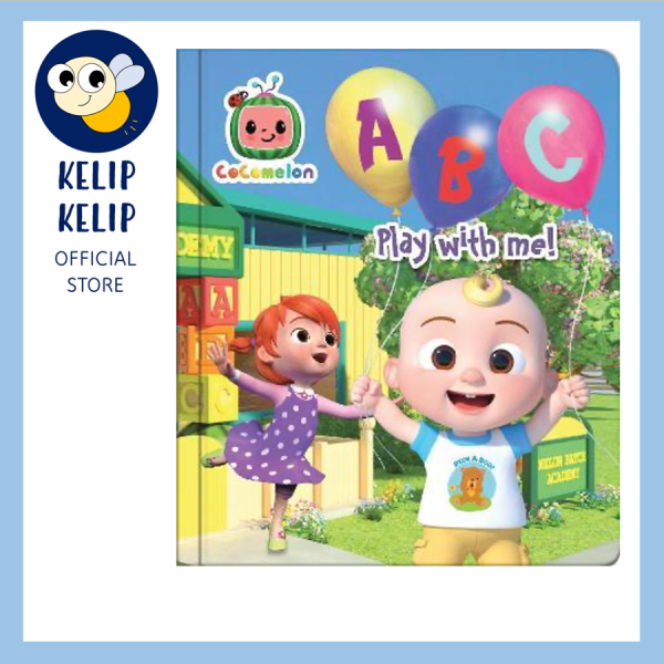 CoComelon ABC First Words Board Book for Preschool Kids to Learn the Alphabet Malaysia