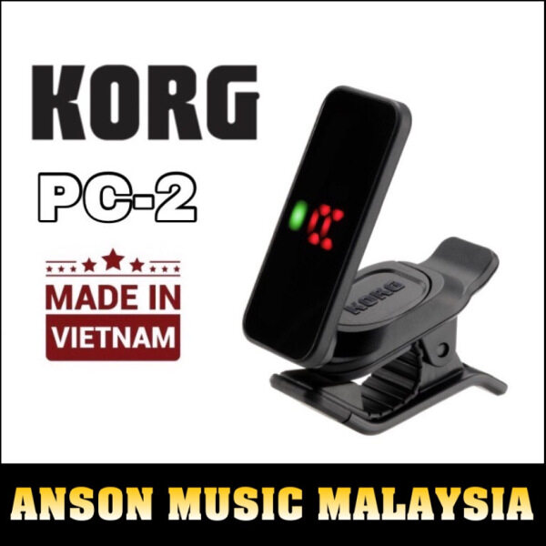 Korg Pitchclip 2 Clip-On Tuner (PC2 / PC-2) Malaysia